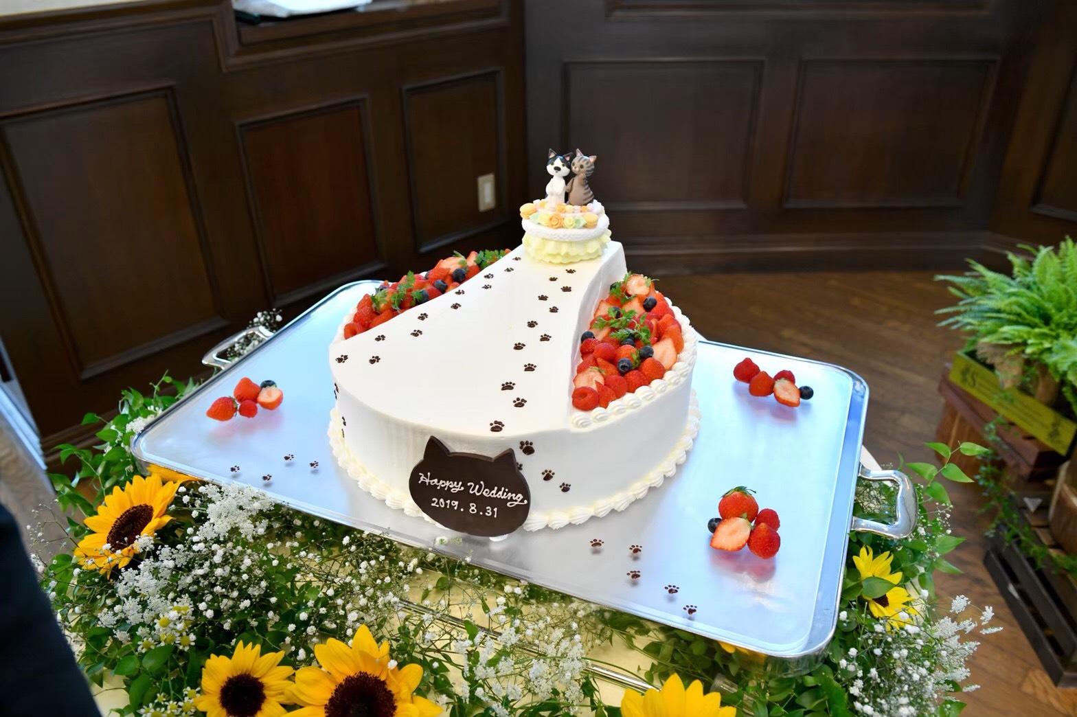 #ウエディングケーキ